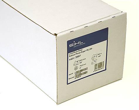"""24"""" x 45m Sihl Rocket Photo Paper PE 250 (3507), Satin"""