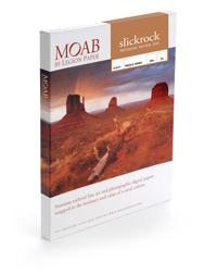 A4 Moab Slickrock Silver Metallic  Photo Paper 300  (25 Sheets)