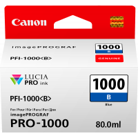 Canon LUCIA PRO pigment ink for iPFPRO-1000 80ml Blue (PFI-1000B)