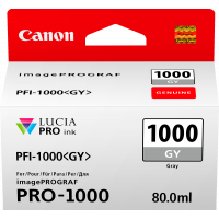 Canon LUCIA PRO pigment ink for iPFPRO-1000 80ml Grey (PFI-1000GY)