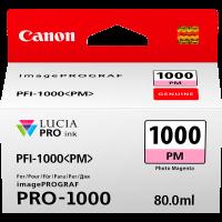 Canon LUCIA PRO pigment ink for iPFPRO-1000 80ml Photo Magenta (PFI-1000PM)