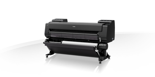 "Canon imagePROGRAF PRO-6000S 60"" 8 Colour Graphic Arts Printer with 320GB HDD & Stand Includes: Drivers; Utilities and Software; RH2-45 Roll Holder; set of 160ml starter ink; print head; maintenance cartridge; network interface; 24 month defect warranty"