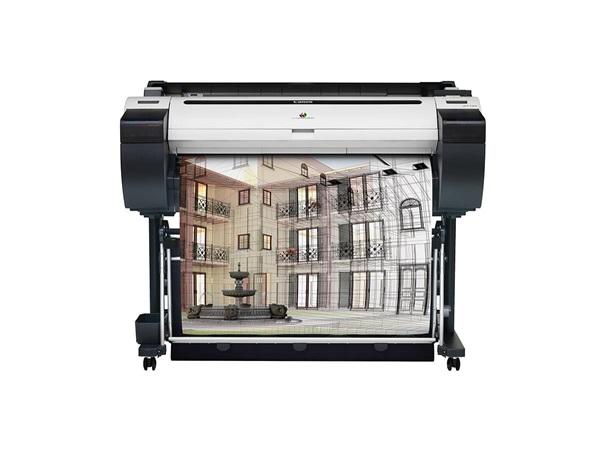 """Canon imagePROGRAF 785 36"""" Colour Technical Large Format Printer, 5 colour(130 / 300ml inks) with 320GB HDD.Incl. stand, basket;RH2-33 Roll Holder;Set of 90ml starter ink (MBK/C/M/Y/BK);High speed (480Mbit/s) USB;24 month defect warranty (inc. print head)"""