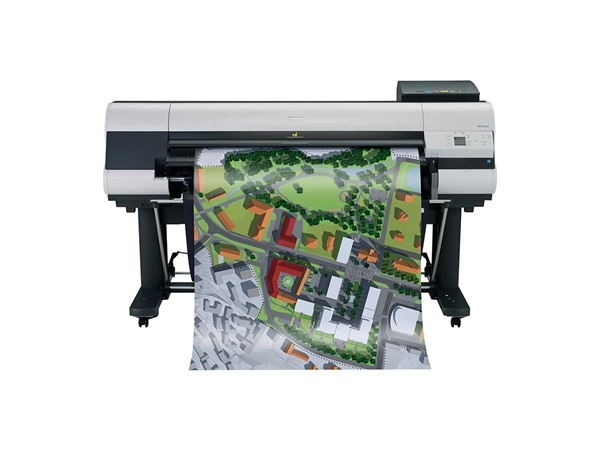 """Canon imagePROGRAF 830 44"""" Colour Technical Large Format Printer, 5 colour (330 / 700ml inks) with 320GB HDD. Incl. stand, basket; RH2-44 Roll Holder;Set of 330ml starter ink (MBK/C/M/Y/BK);24 month defect warranty (inc. print head)"""