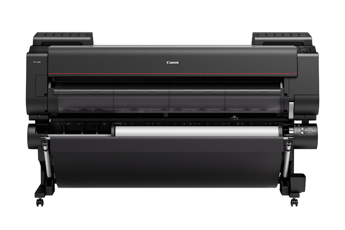 "Canon imagePROGRAF PRO-6000 60"" 12 Colour Graphic Arts Printer with 320GB HDD & Stand Includes: Drivers; Utilities and Software; RH2-45 Roll Holder; set of 160ml starter ink; print head; maintenance cartridge; network interface; 24 month defect warranty"
