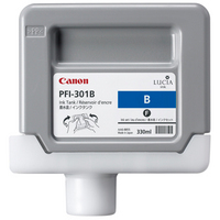 Canon Lucia pigment ink for IPF8000/9000/8100/9100 330ml - Blue (PFI-301B)