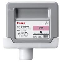 Canon Lucia pigment ink for IPF8000(S)/9000(S)/8100/9100 330ml - Photo Magenta (PFI-301PM)
