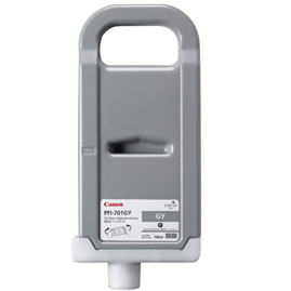 Canon Lucia pigment ink for IPF8000(S)/9000(S) 700ml - Gray (PFI-701GY)