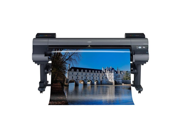 """Canon imagePROGRAF iPF9400 60"""" Graphic Arts Printer with 250GB HDD, 12 colour. Includes Printer Stand, Media Take-Up Unit, 1 x set of  330ml inks (BK/MBK/C/M/Y/PC/PM/GY/PGY/R/G/B), 24 month defect only warranty (includes print head but not consumables)"""