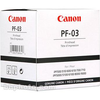 Canon iPF 500/510/5000/5100/600/605/610/700/710/720/ 6000(S)/6100/6200/8000(S)/810/815/820/825/8100/ 9000(S)/9100 Print Head (PF-03)